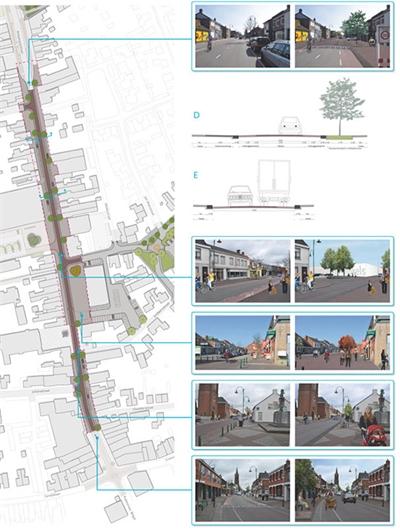 Inrichtingsplan Antwerpsestraat Putte