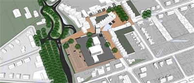 Centrumplan Nieuw Bergen