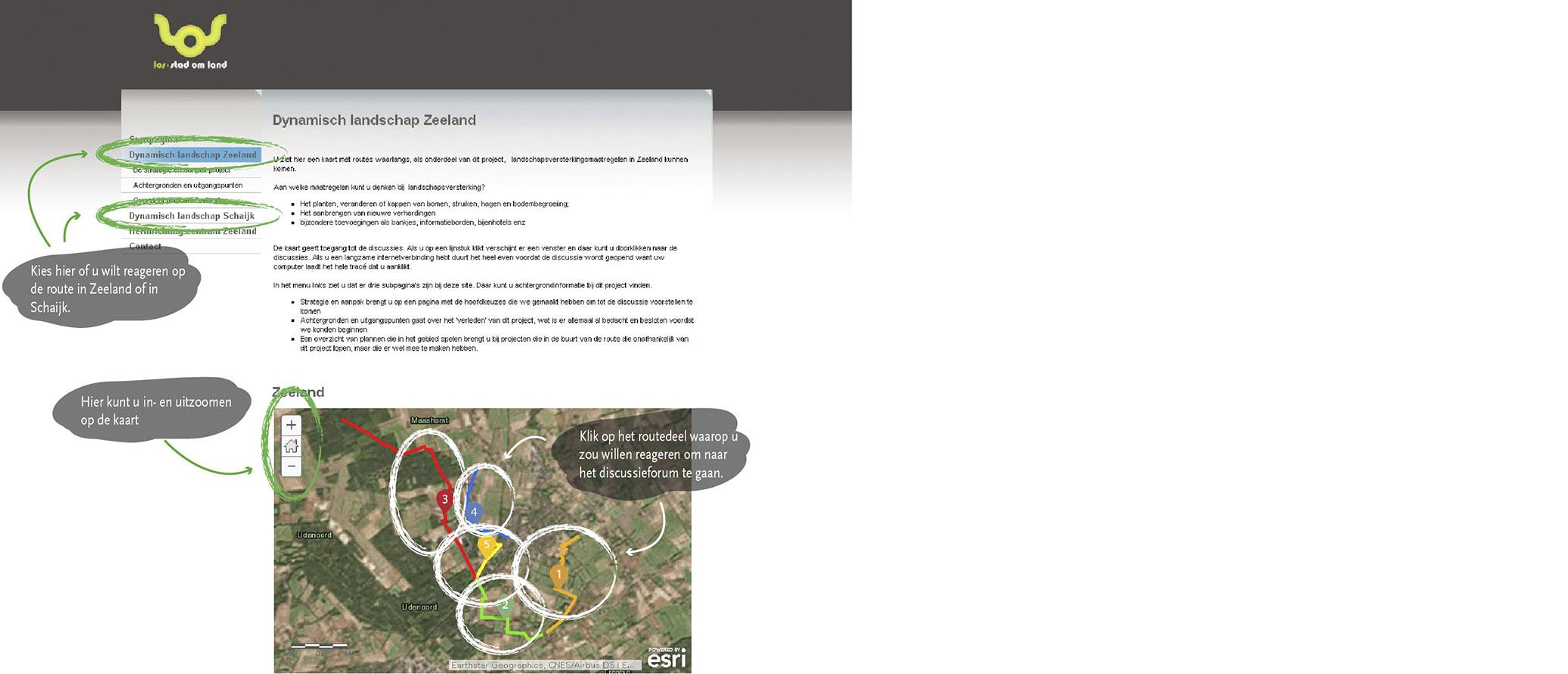 Inrichtingsplan landschappen van allure
