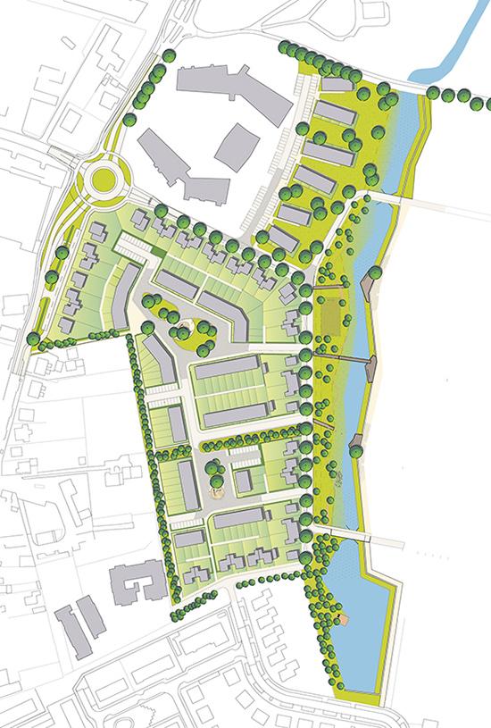 Masterplan en stedenbouwkundige plannen Elzenbos