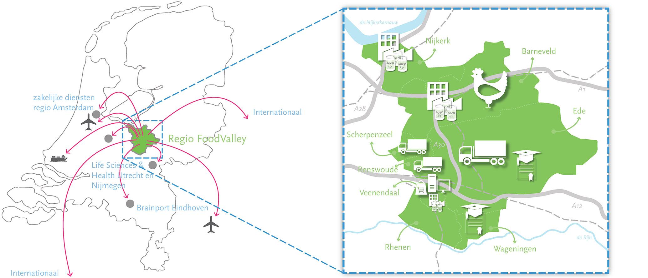Regionale gebiedsvisie Foodvalley
