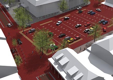 Herinrichting centrum Zeeland